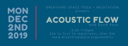 Acoustic Flow with Kevin Paris