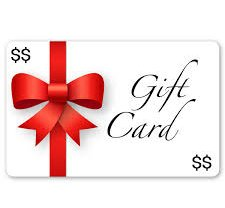 Gift Card for Lessons