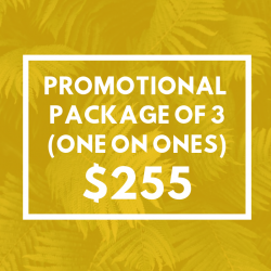 Promotional Package Of 3 One On Ones