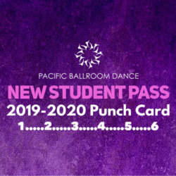 New Student Pass Punch Card-Introductory Offer