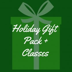Holiday Gift Package 2 - One Month of Classes