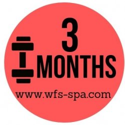 3 Month with ADMIN fee