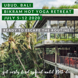 Bikram Hot Yoga Retreat 2020 (deposit)