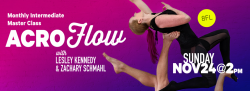 AcroFlow: Monthly Intermediate Master Class