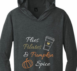 Pumpkin Spice Shirt with/hood