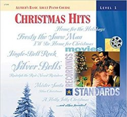 Alfred's Basic Adult Piano Course Christmas Hits Level 1