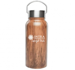 Large Stainless Steel Logo Water Bottle (30oz)