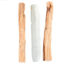 Palo Santo & Selenite Wand Cleansing Kit