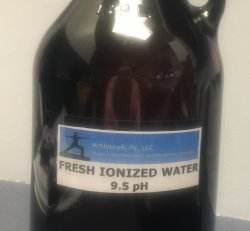 Fresh Ionized Water 9.5 pH    (bottle w/deposit)