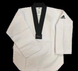 Adidas Black V-Neck Uniform