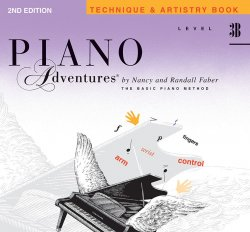 Piano Adventures: Level 3B Technique & Artistry (2nd Ed)