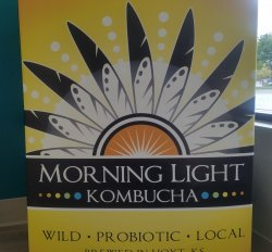 Fill/Refill 64 oz Growler Morning Light Kombucha