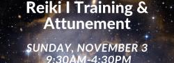 Reiki I Training & Attunement