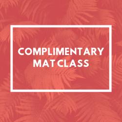 Complimentary Mat Class