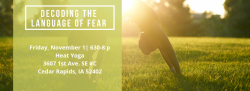 Decoding The Language of Fear