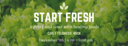 Starting Fresh: Detox + Reset