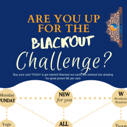 BLACKOUT Challenge Month!
