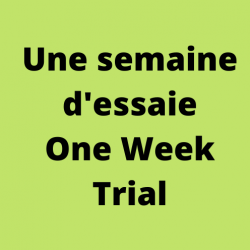 One Week Trial