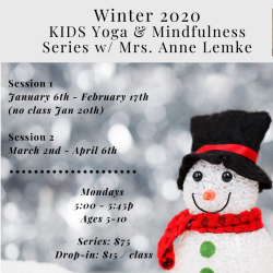 Kids Winter 2020 Session (Session 1 or 2)
