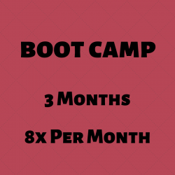 BOOT CAMP l 3 Mo l 8x Per Mo