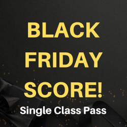 BLACK FRIDAY Single Class