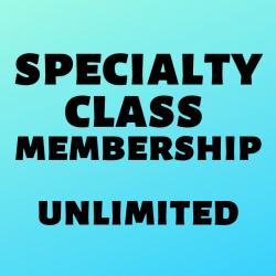 SPECIALTY CLASS MEMBERSHIP l 20x Per Mo