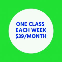 One Class Each Week