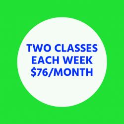 Two Classes Each Week