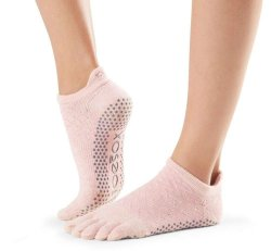 Toesox Grip Full Toe Low Rise