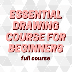 12 Classes - Essential Drawing Course for Beginners