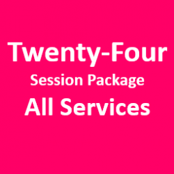 Promotion-24 Sessions Package All  Services Access