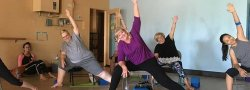 HEY Chair Yoga, Tuesdays, March 19 to April 16, 2019 with Donna, Ahwatukee Studio