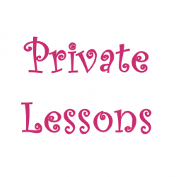 8 Private Lessons $360 ($45 each)