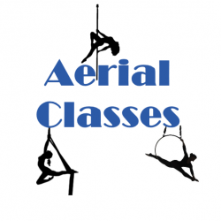 4 Aerial Pole/Hoop/Silks Classes for $72 ($18 each)