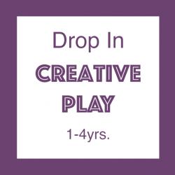 Creative Play, Drop In Class // Membership