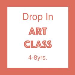 Drop In Art Class, 4-10yrs. // Membership