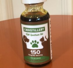 CBDistillery- CBD Pet Tincture