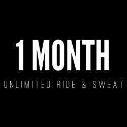 1 MONTH UNLIMITED RIDE/SWEAT PASS (no contract)