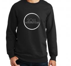 Black Crew Neck Sweatshirt (SAS3)