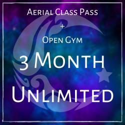 Aerial and Open Gym Unlimited- Three Months