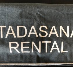 Large Towel (gray) Rental