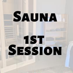 INFRARED SAUNA l 1st Session l Non BC Members