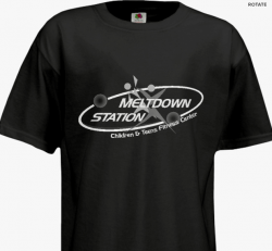 MELTDOWN STATION LOGO T-SHIRT-AVAILABLE NOW!