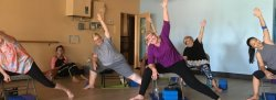 HEY Chair Yoga, Tuesdays, Feb 12 to March 12, 2019 with Donna, Ahwatukee Studio
