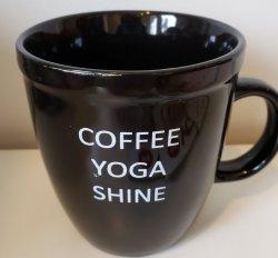 Coffee Yoga Shine Mug
