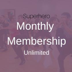 Superhero Monthly Membership (Auto Renew)