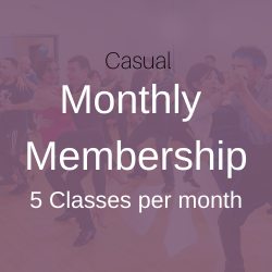 Casual Monthly Membership (Auto Renew)