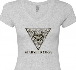 Starseed Apparel:  Sporty V - Light Heather Grey