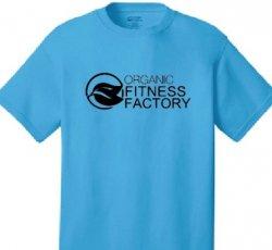 T-Shirt Aqua Blue