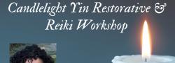 March Candlelight Yin Restorative Yoga w/ Reiki